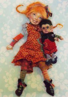 Pippi and Nilsson, bbflockling