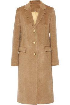 Adam Lippes Camel coat | NET-A-PORTER