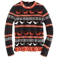 J.Crew Farmyard Fair Isle sweater