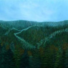 Voir l'image grand format Oil On Canvas, Nature, Image, Landscapes, Naturaleza, Nature Illustration, Off Grid, Natural
