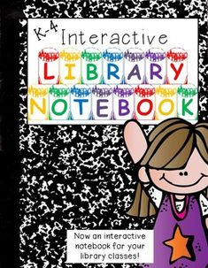 The Interactive Notebook taken to a NEW LEVEL. Now one for the Teacher Librarian. This notebook is great for any elementary teacher librarian that teaches classes. School Library Lessons, Library Lesson Plans, Elementary School Library, Library Skills, Elementary Teacher, Elementary Schools, Library Inspiration, Library Ideas, Teacher Librarian