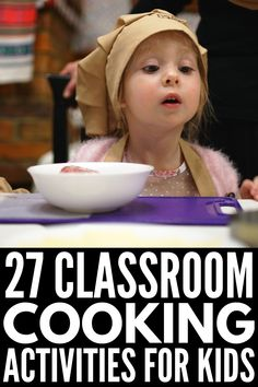 Cooking in the classroom 27 cooking activities for kids 3 easy recipes for kid friendly fermented foods Cooking With Kids Easy, Easy Meals For Kids, Cooking Classes For Kids, Baking With Kids, Kids Meals, Kids Cooking Recipes Easy, Baking Recipes, Preschool Cooking Activities, Activities For Kids