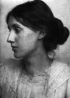 Viginia Woolf by Julia Margaret Cameron (her aunt?)
