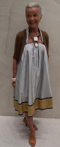 Great style at any age #SeniorStyle #SeniorFashion