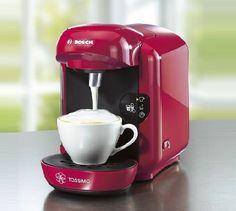 Espressor automat Bosch Tassimo Vivy TAS 1254, 1300 W, 0.7 l ... Daca ai ramas in pana de idei referitor la ce cadouri sa cumperi pentru o persoana draga... Drip Coffee Maker, Keurig, Coffee Making Machine