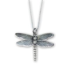 Dragonfly Pendant, Jewelry Design, Unique Jewelry, Dragonflies, Slytherin, Bling Bling, Bees, Sterling Silver Jewelry, Butterflies