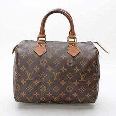 Louis Vuitton  Speedy 25 Monogram Small bags Brown Canvas M41528
