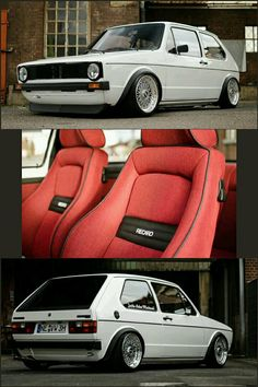 Volkswagen Golf Mk1 Rabbit GTi with Recaro seats