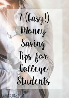 My business-minded boyfriend took over the blog and shared some amazing money saving tips for college students to easily implement!