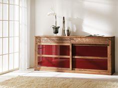 Anrichte   Schiebetüren   Sideboard   Holz   in verschiedenen Holzarten erhältlich - bei Möbel Morschett
