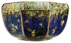 Daisy Makeig-Jones Fairy and Elves Fairyland Lustre Bowl by Wedgwood.