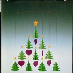 I CAN MAKE!!! Flensted Mobiles Christmas Tree Mobile | AllModern