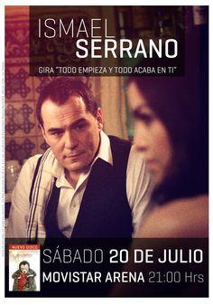 Ismael Serrano - 20 de julio - Movistar Arena