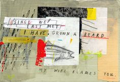 Pen Pal Project postcard for The Compound Studio Artists Gallery, 2014