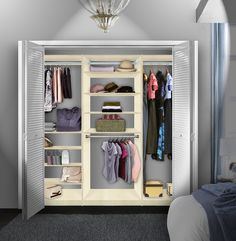 Ordinaire This Custom Closet System Actually Improves Your Quality Of Life! Clothing  Organization, Laundry Room