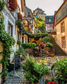 """This fairy tale town is known as the """"Sleeping Beauty"""" of the Moselle Valley 😍 Beilstein, Rheinland-Pfalz, Germany. Photo by ,. Places Around The World, Oh The Places You'll Go, Places To Travel, Around The Worlds, Beautiful Places To Visit, Beautiful World, Beautiful Scenery, Amazing Places, Wonderful Places"""