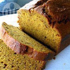 Easy Pumpkin Loaf @ allrecipes.com.au