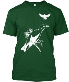 Birds Deep Forest T-Shirt Front