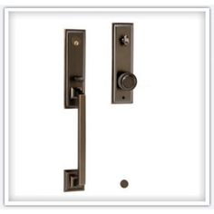 hickory Hardware Designer Collection Entrsance Door Lockset 100% Solid Forged Brass Studio Oil