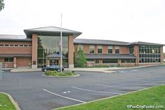 Photo of the Greenwood Public Library in Greenwood, Indiana
