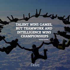 Talent wins games, but teamwork and intelligence wins championships Le Divorce, Startups, Teamwork, Entrepreneurship, Positive Quotes, Inspirational Quotes, Wisdom, Positivity, Relationship
