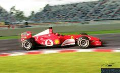 """Ferrari F1 in Diorama """"Track Curve"""". 1/32 scale  #ferrari #f1 #formula1 #wec #wtcc #diorama #scenary #slot #slotcar #scalemodel #scalextric #base #curva #circuito #track #dreamcar #redbullring Diorama, Curve, Slot, Ferrari, Scale, Racing, Vehicles, Circuit, Cars"""