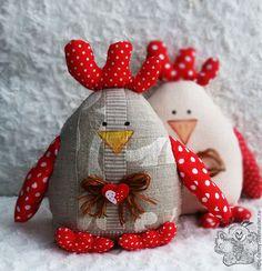 """Купить игрушка """"КУРОЧКА"""" - комбинированный, курица, петушок, интерьерная игрушка, уютный дом, подарок, курочка"""