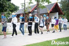 Exclusive Photo by Dispatch untuk Wanna Travel. Let's Stay Together, Produce 101 Season 2, Ong Seongwoo, Fans Cafe, First Love, My Love, My Destiny, Ha Sungwoon, Kim Jaehwan
