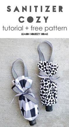 Hand Sewing Projects, Sewing Crafts, Alcohol En Gel, Hand Sanitizer Dispenser, Crochet Blanket Patterns, Sewing Hacks, Fabric Crafts, Sewing Patterns, Things To Sell