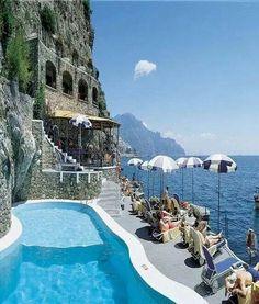 Hotel Santa Caterina in Amalfi,Italy.