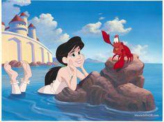 *MELODY & SEBASTIAN ~ THE LITTLE MERMAID 2: Return to the Sea, 2000