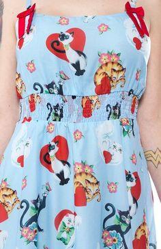 Sourpuss Cat Lady Doll Baby Dress