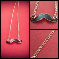 Moustache collana
