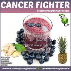 "A very potent cancer-fighting drink filled with Antioxidants  ❥➥❥ Will YOU try this recipe?  Doesn't this sound delicious? And look beautiful? More info: http://www.stepintomygreenworld.com/healthyliving/cancer-fighting-drink/  ♥Like✔""Share""✔Tag✔Comment✔Repost✔God Bless♥   ℒℴѵℯ / Thanks / Visit ➸ Step In2 My Green World #health #food #GodsGardenOfEden ♡ ♥ ♡ pinned with Pinvolve - pinvolve.co"