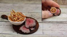 Puppenstube - Puppenküche - Miniatur Essen -Roastbeef- Braten -1:12 | eBay