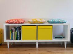 legheads-IKEA-kallax-white-yellow