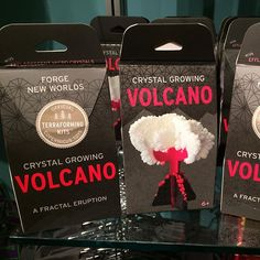 Official Terraforming Kits at the @romtoronto store a tie-in to the Pompeii exhibit.