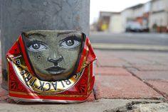 Miniatur-Street Art aus alten Dosen  Credit: My Dog Sighs