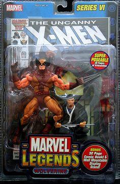Marvel Legends Series 6 Wolverine