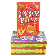 Scholastic Poems Collection 10 Books Set By Jennifer Curry, Paul Cookson