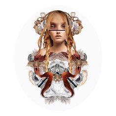 Recycle Me! Fashion Illustration by Maren Esdar #digitalart #design #TrafficNYC