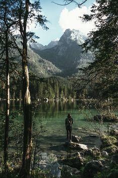Au bord du lac... Parc National de Berchtesgaden ! Allemagne, Road trip en Bavière