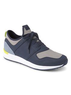 6ebf9b8d78bc93 Gap Mens Retro Sneakers - Green Camo 12 Retro Sneakers