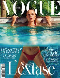 Natasha Poly by Inez & Vinoodh for Vogue Paris June July 2014