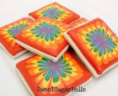 tie dye sugar cookies!