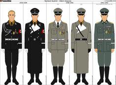 Some of Reinhard Heydrich's Uniforms by Tounushifan on DeviantArt