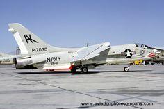 US Navy VF-111 Chance F-8E 147030/AK-101 (1968)