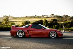 Acura Honda NSX. an astoundingly beautiful looking, riding and driving auto.