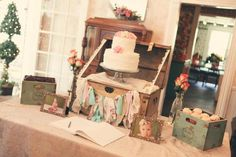 Hostess with the Mostess® - Shabby Chic First Birthday Party