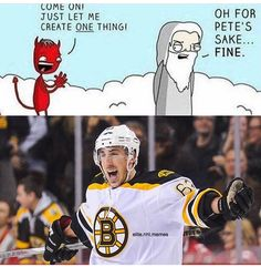 This is exactly what I pictured happened Brad Marchand, Boston Bruins, Pittsburgh Penguins, Ice Hockey, Dallas Cowboys, Nhl, Funny Hockey, Hockey Stuff, Baseball Cards